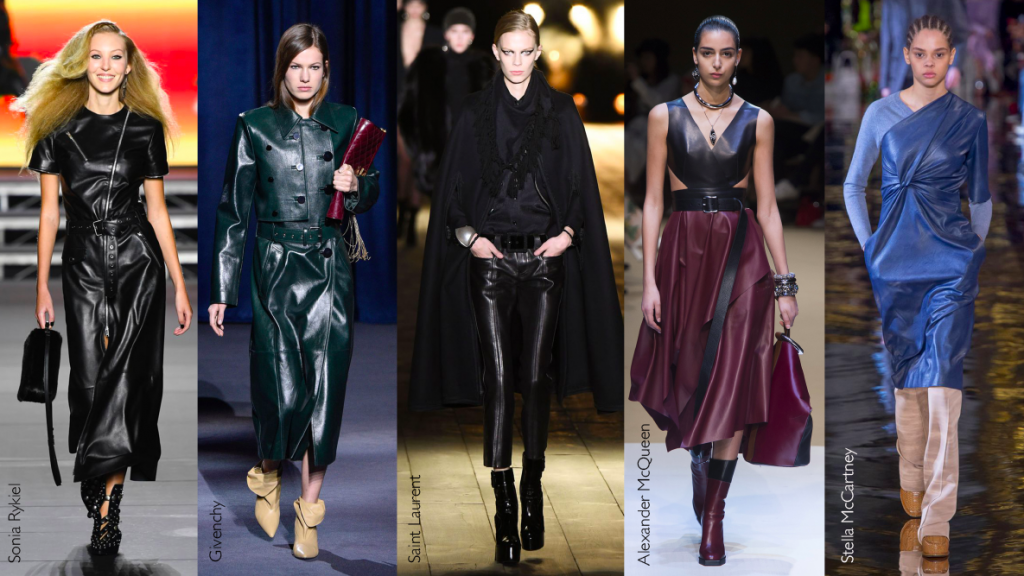 Autumn fashion trends for 2018 - Leather