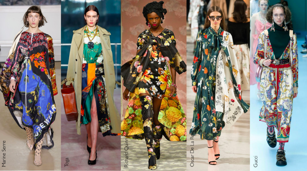 Autumn winter 2018 fashion - silk is in